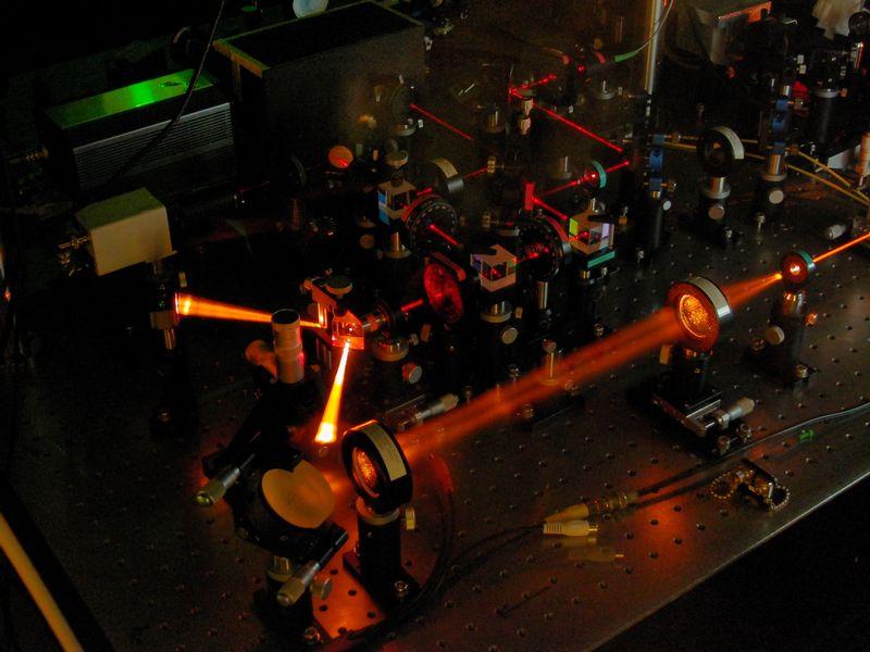図2-1:半導体ナノ粒子を用いた単一光子源